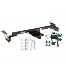 Trailer Tow Hitch For 03-05 Toyota Echo Except Hatchback Trailer Hitch Tow Receiver w/ Wiring Harness Kit