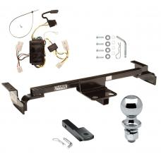 "Trailer Tow Hitch For 00-02 Toyota Echo Except Hatchback Complete Package w/ Wiring Draw Bar and 2"" Ball"