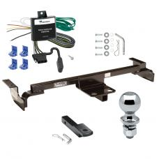 "Trailer Tow Hitch For 03-05 Toyota Echo Except Hatchback Complete Package w/ Wiring Draw Bar and 2"" Ball"