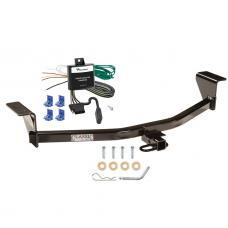 Trailer Tow Hitch For 11-13 Scion tC Trailer Hitch Tow Receiver w/ Wiring Harness Kit