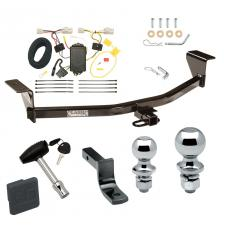 "Trailer Tow Hitch For 11-13 Scion xB Except Release Series Deluxe Package Wiring 2"" and 1-7/8"" Ball and Lock"