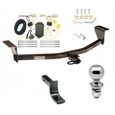 "Trailer Tow Hitch For 11-13 Scion xB Except Release Series Complete Package w/ Wiring Draw Bar and 2"" Ball"