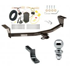 "Trailer Tow Hitch For 08-10 Scion xB Except Release Series Complete Package w/ Wiring Draw Bar and 2"" Ball"