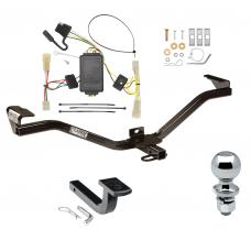 "Trailer Tow Hitch For 07-11 Suzuki SX4 Crossover Complete Package w/ Wiring Draw Bar and 2"" Ball"