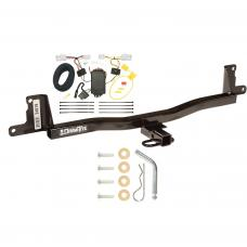 Trailer Tow Hitch For 07-11 Toyota Yaris Sedan Trailer Hitch Tow Receiver w/ Wiring Harness Kit