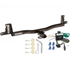 Trailer Tow Hitch For 07-11 Toyota Yaris Hatchback Trailer Hitch Tow Receiver w/ Wiring Harness Kit