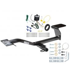 Trailer Tow Hitch For 07-13 Volkswagen Eos Trailer Hitch Tow Receiver w/ Wiring Harness Kit