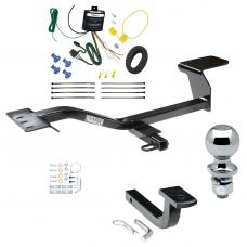 """Trailer Tow Hitch For 07-13 Volkswagen Eos Complete Package w/ Wiring Draw Bar and 2"""" Ball"""