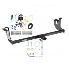 Trailer Tow Hitch For 06-09 Volkswagen Rabbit GTI 10-14 Golf Trailer Hitch Tow Receiver w/ Wiring Harness Kit