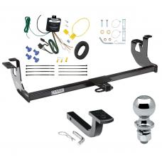 "Trailer Tow Hitch For 10-14 Volkswagen Golf 06-09 GTI Rabbit Complete Package w/ Wiring Draw Bar and 2"" Ball"
