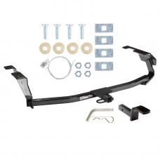 """Trailer Tow Hitch For 09-13 Honda Fit 1-1/4"""" Towing Receiver Class 1 w/ Draw Bar Kit"""