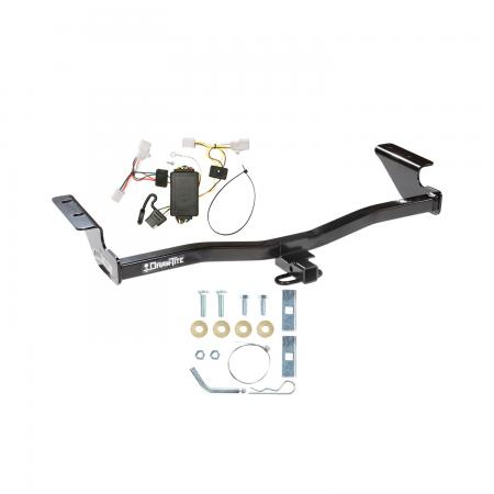 Trailer Tow Hitch For 07-10 Scion tC Trailer Hitch Tow Receiver w/ Wiring Harness Kit