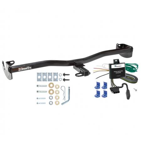 08-10 Scion xD Trailer Hitch Tow Receiver w/ Wiring Harness Kit