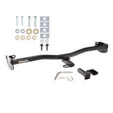 "Trailer Tow Hitch For 08-10 Scion xD 1-1/4"" Towing Receiver Class 1 w/ Draw Bar Kit"