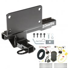 Trailer Tow Hitch For 07-08 Infiniti G35 09-13 G37 Trailer Hitch Tow Receiver w/ Wiring Harness Kit