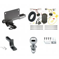"Trailer Tow Hitch For 07-08 Infiniti G35 09-13 G37 4 Dr. Sedan Complete Package w/ Wiring Draw Bar and 2"" Ball"