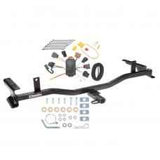 Trailer Tow Hitch For 09-13 Mazda 6 Sedan Trailer Hitch Tow Receiver w/ Wiring Harness Kit
