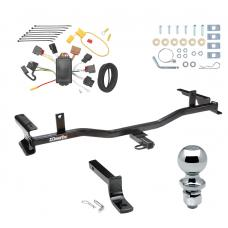 """Trailer Tow Hitch For 09-13 Mazda 6 4 Dr. Sedan Complete Package w/ Wiring Draw Bar and 2"""" Ball"""
