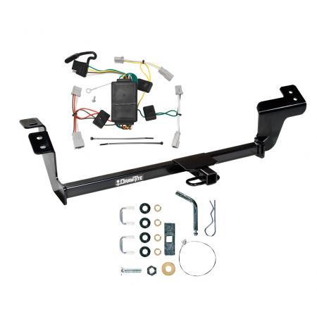 Trailer Tow Hitch For 07-12 Mitsubishi Galant Trailer Hitch Tow Receiver w/ Wiring Harness Kit