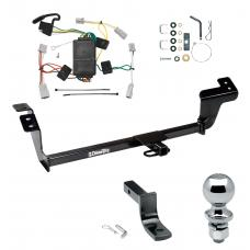 """Trailer Tow Hitch For 07-12 Mitsubishi Galant Complete Package w/ Wiring Draw Bar and 2"""" Ball"""