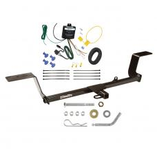 Trailer Tow Hitch For 05-11 Audi A6 Quattro Avant Trailer Hitch Tow Receiver w/ Wiring Harness Kit
