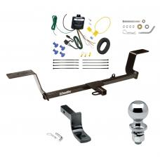 """Trailer Tow Hitch For 05-11 Audi A6 Sedan 06-10 Quattro Avant Wagon Complete Package w/ Wiring Draw Bar and 2"""" Ball"""
