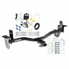 Trailer Tow Hitch For 10-13 Mazda 3 Sedan w/LED Taillights Trailer Hitch Tow Receiver w/ Wiring Harness Kit