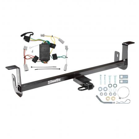 Trailer Tow Hitch For 10-13 Mazda 3 w/o LED Taillights Trailer Hitch Tow Receiver w/ Wiring Harness Kit