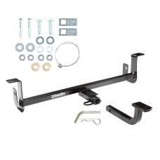 "Trailer Tow Hitch For 10-13 Mazda 3 Hatchback 1-1/4"" Receiver w/ Draw Bar Kit"
