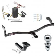 """Trailer Tow Hitch For 09-12 Hyundai Elantra Touring 5 Dr. Complete Package w/ Wiring Draw Bar and 2"""" Ball"""
