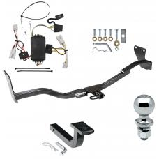 """Trailer Tow Hitch For 10-13 KIA Forte 4 Dr. Sedan Complete Package w/ Wiring Draw Bar and 2"""" Ball"""