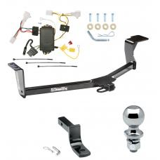 "Trailer Tow Hitch For 10-15 Toyota Prius Except Plug-In Complete Package w/ Wiring Draw Bar and 2"" Ball"