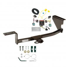 Trailer Tow Hitch For 07-10 Volkswagen Passat Wagon Trailer Hitch Tow Receiver w/ Wiring Harness Kit