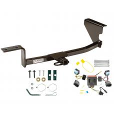 Trailer Tow Hitch For 06-10 Volkswagen Passat Sedan Trailer Hitch Tow Receiver w/ Wiring Harness Kit