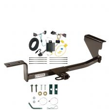 Trailer Tow Hitch For 13-17 Volkswagen CC Trailer Hitch Tow Receiver w/ Wiring Harness Kit