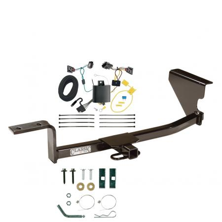 13-17 Volkswagen CC Trailer Hitch Tow Receiver w/ Wiring Harness Kit
