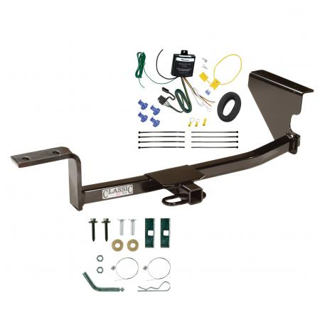 Trailer Tow Hitch For 09-12 Volkswagen CC Trailer Hitch Tow Receiver w/ Wiring Harness Kit
