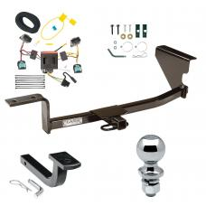 "Trailer Tow Hitch For 07-10 Volkswagen Passat Wagon Except 4 Motion Complete Package w/ Wiring Draw Bar and 2"" Ball"