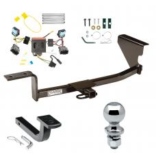 "Trailer Tow Hitch For 06-10 Volkswagen Passat Sedan Except 4 Motion Complete Package w/ Wiring Draw Bar and 2"" Ball"