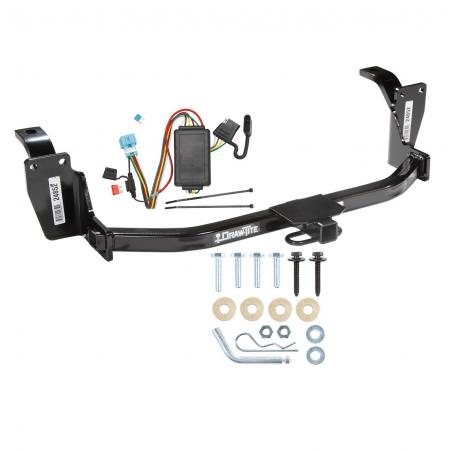 10-12 Honda Accord Crosstour Trailer Hitch Tow Receiver w/ Wiring Harness Kit