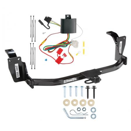 13-15 Honda Crosstour Trailer Hitch Tow Receiver w/ Wiring Harness Kit
