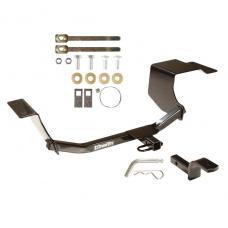 """Trailer Tow Hitch For 11-18 Ford Fiesta Hatchback 1-1/4"""" Receiver w/ Draw Bar Kit"""