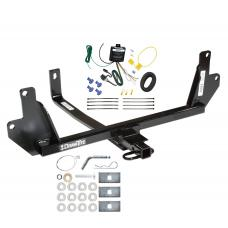 Trailer Tow Hitch For 07-11 BMW 328i xDrive 07-08 328xi Trailer Hitch Tow Receiver w/ Wiring Harness Kit