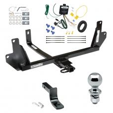 "Trailer Tow Hitch For 07-11 BMW 328i Sedan xDrive 07-08 328xi Complete Package w/ Wiring Draw Bar and 2"" Ball"