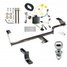 """Trailer Tow Hitch For 13-20 Acura ILX Except Hybrid Complete Package w/ Wiring Draw Bar and 2"""" Ball"""