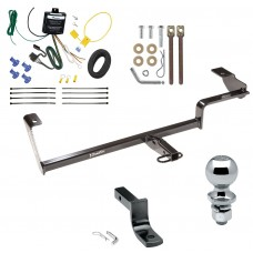 "Trailer Tow Hitch For 06-11 Acura CSX Canada Only Complete Package w/ Wiring Draw Bar and 2"" Ball"