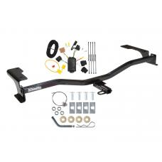 Trailer Tow Hitch For 10-12 Ford Fusion Trailer Hitch Tow Receiver w/ Wiring Harness Kit