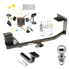 """Trailer Tow Hitch For 11-14 Volkswagen Jetta Sedan Complete Package w/ Wiring Draw Bar and 2"""" Ball"""