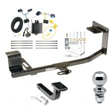 """Trailer Tow Hitch For 05-10 Volkswagen Jetta Sedan Complete Package w/ Wiring Draw Bar and 2"""" Ball"""