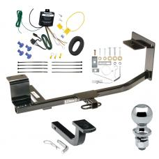 """Trailer Tow Hitch For 09-14 Volkswagen Jetta SportWagon Complete Package w/ Wiring Draw Bar and 2"""" Ball"""